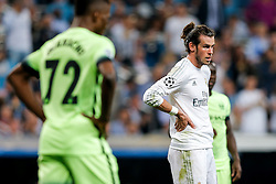 Gareth Bale of Real Madrid looks frustrated - Mandatory byline: Rogan Thomson/JMP - 04/05/2016 - FOOTBALL - Santiago Bernabeu Stadium - Madrid, Spain - Real Madrid v Manchester City - UEFA Champions League Semi Finals: Second Leg.