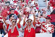 TUSCALOOSA, AL - SEPTEMBER 20: Alabama Crimson Tide fans cheer during the game against the Florida Gators at Bryant-Denny Stadium on September 20, 2014 in Tuscaloosa, Alabama. (Photo by Joe Robbins)
