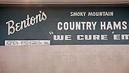Bacon cured by Allan Benton, Benton's Country Hams.  Smokey Mountains of Tennessee.