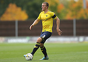 Oxford United defender Joe Skarz (3) during the Sky Bet League 2 match between Oxford United and AFC Wimbledon at the Kassam Stadium, Oxford, England on 10 October 2015.