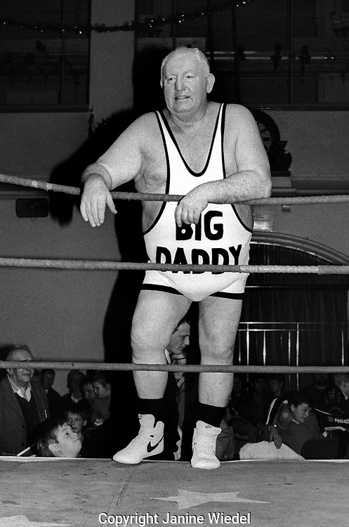 Big Daddy at Professional  wrestling match in Dover Kent