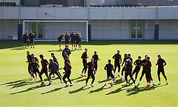 A general view of the Etihad Campus as the Manchester City players train - Mandatory by-line: Matt McNulty/JMP - 18/10/2016 - FOOTBALL - Manchester City - Training session ahead of Champions League qualifier against FC Barcelona