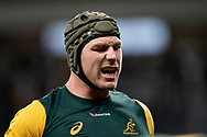 SYDNEY, AUSTRALIA - SEPTEMBER 07: David Pocock of the Wallabies before the international rugby test match between the Australian Wallabies and Manu Samoa on September 07, 2019 at Bankwest Stadium in Sydney, Australia. (Photo by Speed Media/Icon Sportswire)