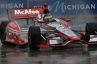 Sebastien Bourdais, Cheverolet Indy Dual in Detroit, Belle Isle, Detroit, MI USA 06/01/13