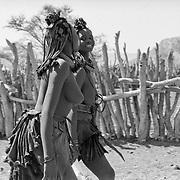 Himbas, Kunene, Namibia, Africa