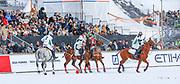 2019, Januari 26. St. Moritzersee, St. Moritz. Snowpolo World Cup 2019 day 2. Team Cartier vs Team Azerbaijan
