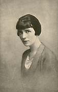 Katherine Mansfield Beauchamp Murry (1888-1923) New Zealand modernist author and writer of short stories who wrote as Katherine Mansfield.  In 1918 she married the English writer and critic John Middleton Murry.