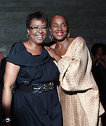 28 April 2011- New York,  NY- l to r: Harriette Cole and Susan Taylor at The Sparkling Celebration for the Birthday of Harriette Cole held at the Galapagos Art Space on April 27, 2011 in Brooklyn, NY Photo Credit: Terrence Jennings