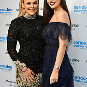 Talia Storm and Emily Canham Arrivers at Special gala in honour of SeriousFun Children's Network, the charity  started by actor and philanthropist Paul Newman at The Roundhouse, on 6 November 2018, London, UK.