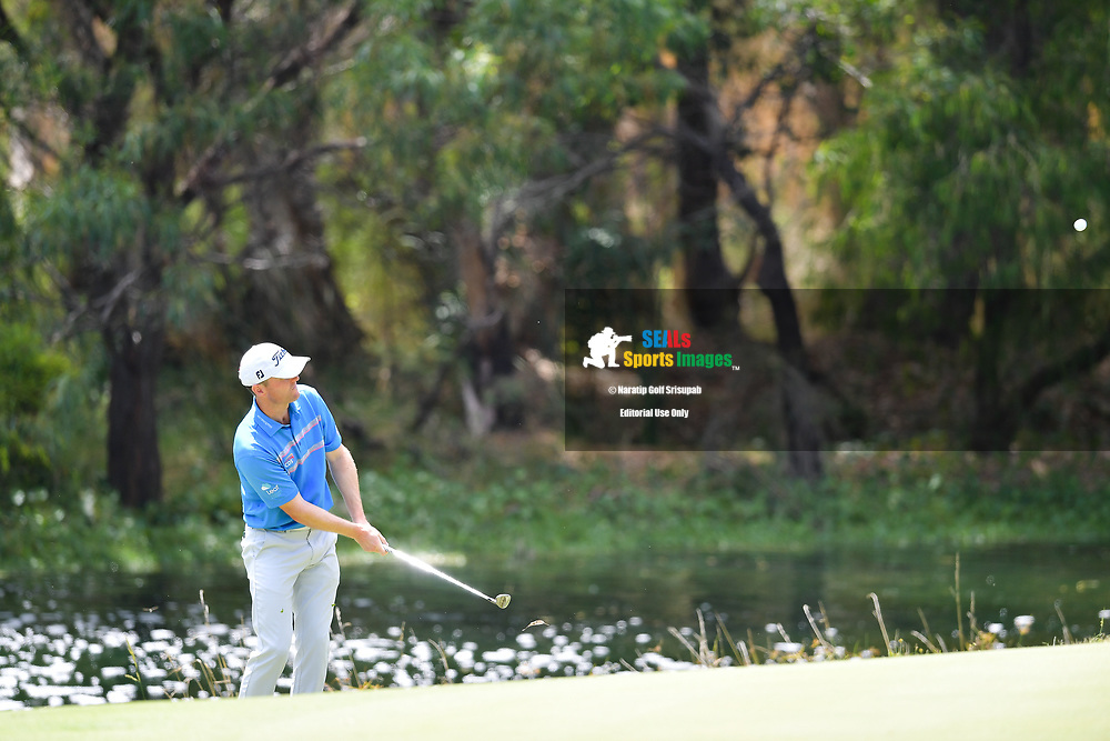 PERTH, AUSTRALIA - FEBRUARY 16: Michael Hoey (NIR) on the 3rd green during the 3rd round of the ISPS Handa World Super 6, Lake Karrinyup Country Club, Perth, Western Australia, on February 16, 2019. <br /> .<br /> .<br /> .<br /> (Photo by: Naratip Golf Srisupab/SEALs Sports Images)<br /> .<br /> Any image use must include a mandatory credit line adjacent to the content which should read: Naratip Golf Srisupab/SEALs Sports Images