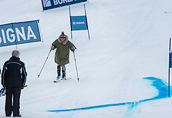 20.01.2018, Hahnenkamm, Kitzbühel, AUT, FIS Weltcup Ski Alpin, Kitzbuehel, Kitz Charity Trophy, im Bild Gregor Bloeb // Gregor Bloeb during the Kitz Charity Trophy of the FIS Ski Alpine World Cup at the Hahnenkamm in Kitzbühel, Austria on 2018/01/20. EXPA Pictures © 2018, PhotoCredit: EXPA/ Stefan Adelsberger