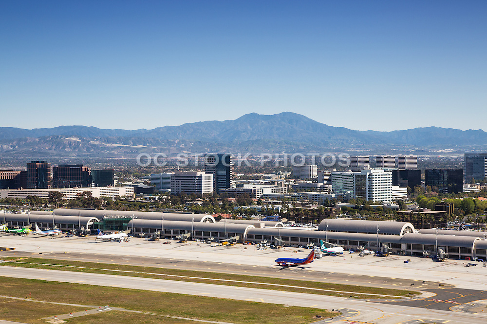 Aerial Stock Photo Of John Wayne Airport
