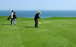 NORMANDY, FRANCE - MAY-01-2007 - Omaha Beach Golf Club - Course: La Mer (The Sea) - Hole 6 - 469 yards - Par 4.(Photo © Jock Fistick)