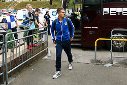 Tom Nichols of Bristol Rovers arrives at Adams Park for the Sky Bet League One fixture against Wycombe Wanderers - Mandatory by-line: Robbie Stephenson/JMP - 18/08/2018 - FOOTBALL - Adam's Park - High Wycombe, England - Wycombe Wanderers v Bristol Rovers - Sky Bet League One