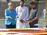 German Chancellor Angela Merkel Visits India
