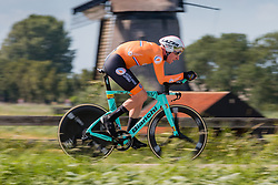 VAN EMDEN Jos from NETHERLANDS during Men Elite Time Trial at 2019 UEC European Road Championships, Alkmaar, The Netherlands, 8 August 2019. <br /> <br /> Photo by Pim Nijland / PelotonPhotos.com<br /> <br /> All photos usage must carry mandatory copyright credit (Peloton Photos | Pim Nijland)