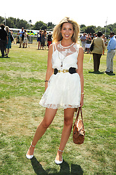ALEXANDRA FINLAY at the Cartier International Polo at Guards Polo Club, Windsor Great Park on 27th July 2008.<br /> <br /> NON EXCLUSIVE - WORLD RIGHTS