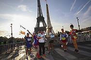 October 14, 2018 - Paris, France - Ambiance coureurs (Credit Image: © Panoramic via ZUMA Press)