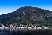 Coastal town of Perast, Bay of Kotor, Montenegro