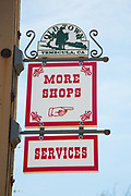 Old Town Temecula Signage