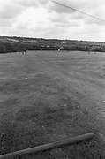 View of hills in the distance, Glastonbury, Somerset, 1989