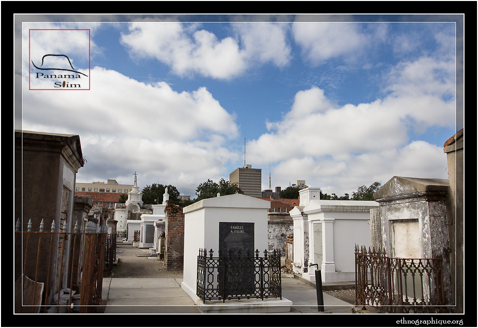 This cemetery is the final resting place of Marie LaVeau and several other luminaries of New Orleans Voodoo history.  Photos were taken on the Day of the Dead in New Orleans, 2013.