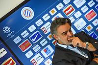Laurent Nicollin  - 29.06.2015 - Reprise de Montpellier - 2015/2016<br />Photo : Alexandre Dimou / Icon Sport