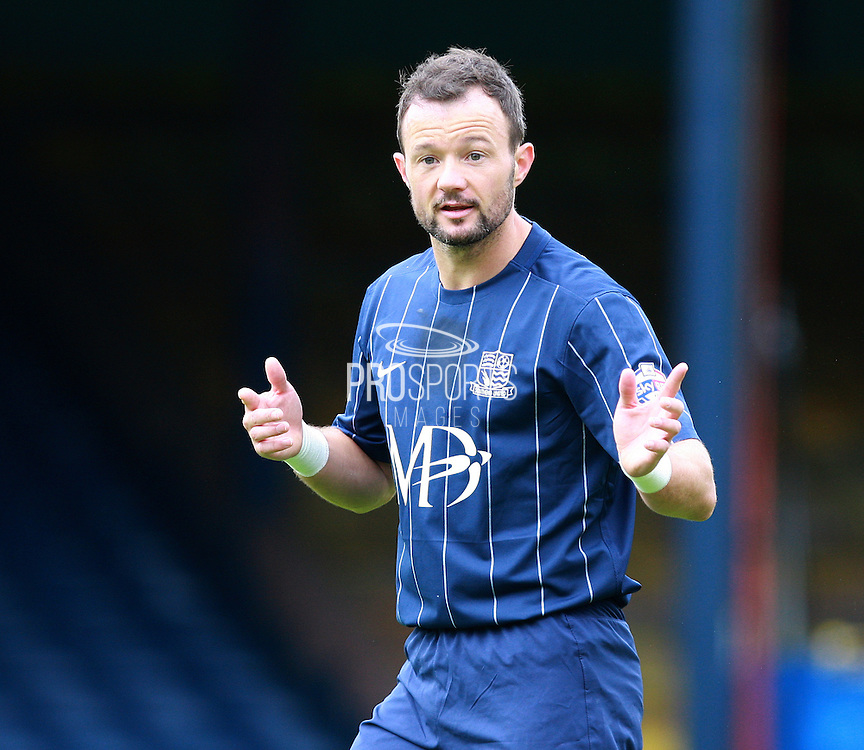 Southend player Noel Hunt during the Sky Bet League 1 match between Southend United and Peterborough United at Roots Hall, Southend, England on 5 September 2015. Photo by Bennett Dean.
