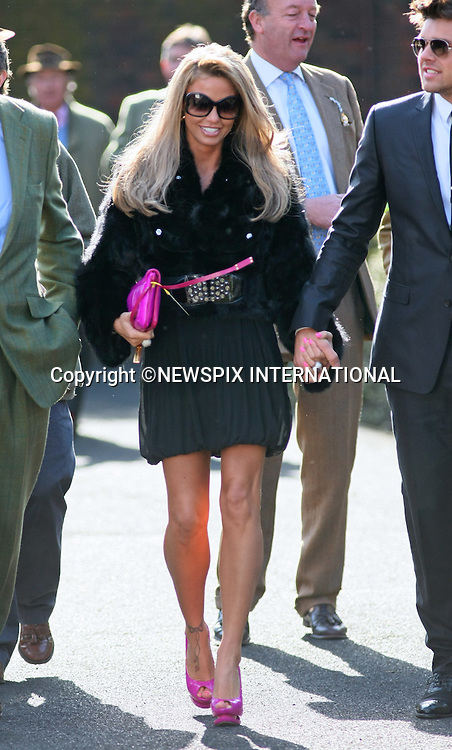 "KATIE PRICE.Gold Cup Day at the Cheltenham Festival 2011, Cheltenham_18/03/2011.Mandatory Credit Photo: ©Burgess-NEWSPIX INTERNATIONAL..**ALL FEES PAYABLE TO: ""NEWSPIX INTERNATIONAL""**..IMMEDIATE CONFIRMATION OF USAGE REQUIRED:.Newspix International, 31 Chinnery Hill, Bishop's Stortford, ENGLAND CM23 3PS.Tel:+441279 324672  ; Fax: +441279656877.Mobile:  07775681153.e-mail: info@newspixinternational.co.uk"