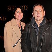 NLD/Amsterdam/20120115 - Premiere Suskind, Dick Maas en partner Esmee Lammers