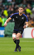 Daniel Carter of New Zealand before the 2015 Rugby World Cup semi final match at Twickenham Stadium, Twickenham<br /> Picture by Michael Whitefoot/Focus Images Ltd 07969 898192<br /> 24/10/2015