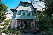 Hermann-Hesse-Haus, Gaienhofen, Höri, Bodensee, Untersee, Baden-Württemberg, Deutschland