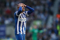 Jiri Skalak of Brighton & Hove Albion misses a free kick - Mandatory by-line: Jason Brown/JMP - 16/05/2016 - FOOTBALL - Amex Stadium - Brighton, England - Brighton and Hove Albion v Sheffield Wednesday - Sky Bet Championship Play-off Semi-final second leg