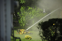 """© 2011 StartPoint Media, Inc a href=""""http://www.startpointmedia.com"""" rel=""""nofollow""""www.startpointmedia.com/a.Firefighters from four companies work to put out a house fire at 618 Locust St. In Coraopolis, Pa. Friday, June 3, 2011. The resident evacuated the home safely. The home is a total loss. Family friends say a fund will be set-up to help the woman."""