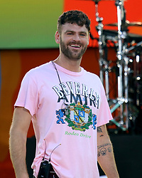 August 10, 2018 - New York City, New York, U.S. - ALEX PALL from 'The Chainsmokers' performs on 'Good Morning America' held in Central Park. (Credit Image: © Nancy Kaszerman via ZUMA Wire)