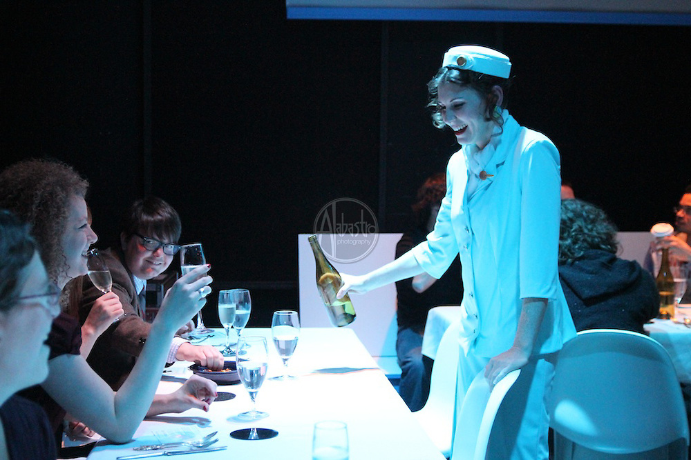 "Cafe Nordo presents ""To Savor Tomorrow"" at West of Lenin, November 2011."
