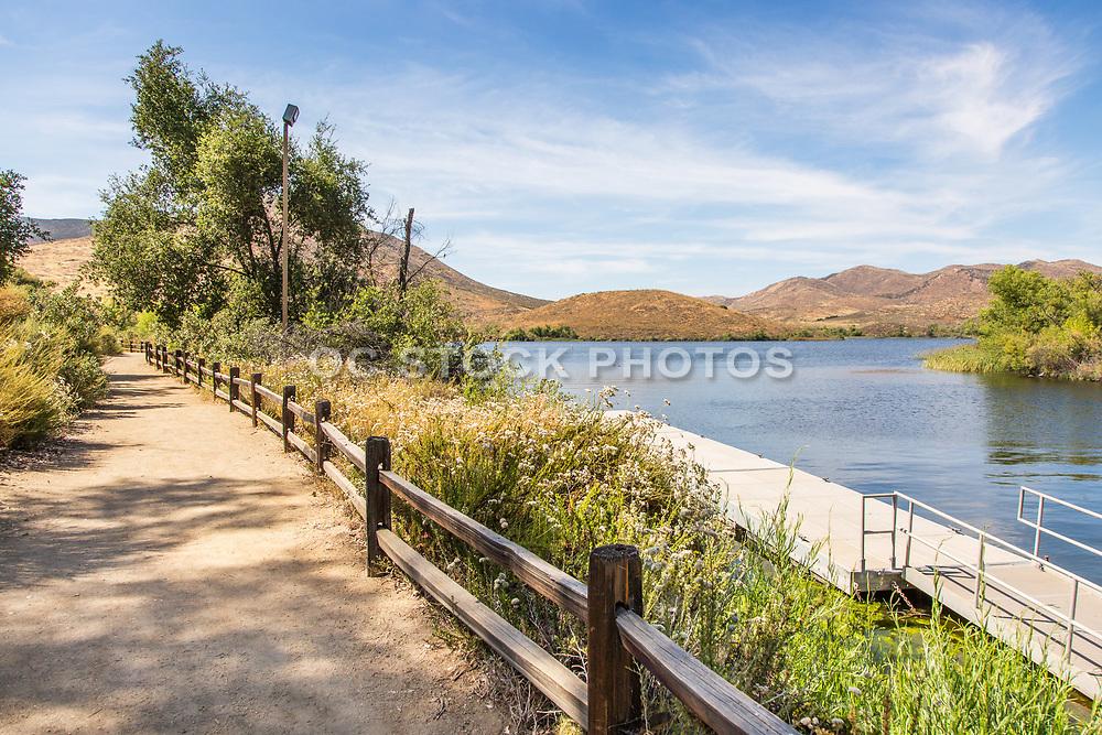 Hiking Path at Lake Skinner