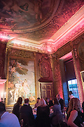 Perdurity: A Moving Banquet of Time. Royal Salute curates a timeless evening at Hampton Court Palace with Marcos Lutyens, 2 June 2015.