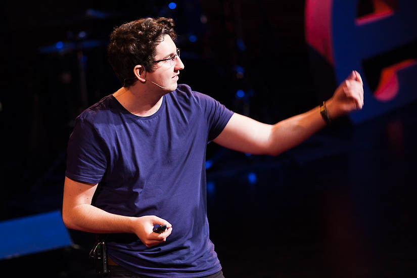 "TEDxWaterloo speaker and Waterloo native Taylor Jones talks about his ""Dear Photograph"" project"