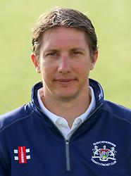 Gloucestershire CCC Second team Coach and Academy Director Owen Dawkins -  Photo mandatory by-line: Dougie Allward/JMP - 07966 386802 - 10/04/2015 - SPORT - CRICKET - Bristol, England - Bristol County Ground - Gloucestershire County Cricket Club Photocall.