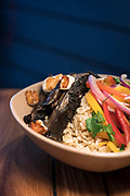 Portobello with queso fresco rice bowl at Bartaco restaurant at Hilldale Shopping Center in Madison, WI on Thursday, April 18, 2019.