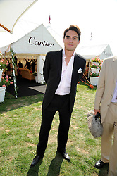RAEF BJAYOU from TV's The Apprentice 2008 at the Cartier International Polo at Guards Polo Club, Windsor Great Park on 27th July 2008.<br /> <br /> NON EXCLUSIVE - WORLD RIGHTS