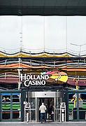 Nederland, Utrecht, 25-1-2014Ingang van het Holland Casino. Gebouw aan het jaarbeursplein.Foto: Flip Franssen/Hollandse Hoogte