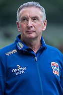 Newcastle Jets head coach Ernie Merrick looks on at the Hyundai A-League Round 6 soccer match between Melbourne City FC and Newcastle Jets at AAMI Park in Melbourne.