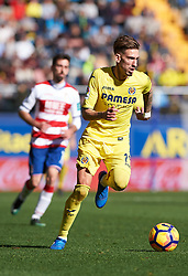 January 28, 2017 - Vila-Real, Castellon, Spain - Samu Castillejo of Villarreal CF during their La Liga match between Villarreal CF and Granada CF at the Estadio de la Ceramica on 28 January 2017 in Vila-real, Spain. (Credit Image: © Maria Jose Segovia/NurPhoto via ZUMA Press)