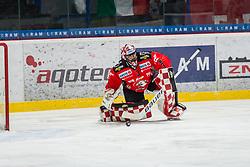 19.01.2018, Ice Rink, Znojmo, CZE, EBEL, HC Orli Znojmo vs HCB Suedtirol Alperia, 41. Runde, im Bild Marek Schwarz (HC Orli Znojmo) // during the Erste Bank Icehockey League 41th round match between HC Orli Znojmo and HCB Suedtirol Alperia at the Ice Rink in Znojmo, Czech Republic on 2018/01/19. EXPA Pictures © 2018, PhotoCredit: EXPA/ Rostislav Pfeffer