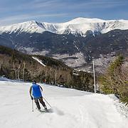 Wildcat Ski Area with views of Tuckerman Ravine
