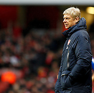 Picture by Mike  Griffiths/Focus Images Ltd +44 7766 223933<br /> 01/01/2014<br /> Arsene Wenger of Arsenal during the Barclays Premier League match at the Emirates Stadium, London.
