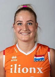 10-05-2018 NED: Team shoot Dutch volleyball team women, Arnhem<br /> Marrit Jasper #18 of Netherlands