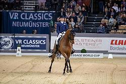 Cornelissen Adelinde, NED, Aqiedo<br /> Grand Prix Kür - Freestyle CDI-W<br /> Neumünster - VR Classics 2019<br /> © Hippo Foto - Stefan Lafrentz